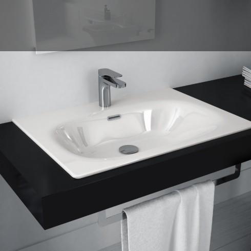Flat 71 | installiert als Einbauwaschtisch