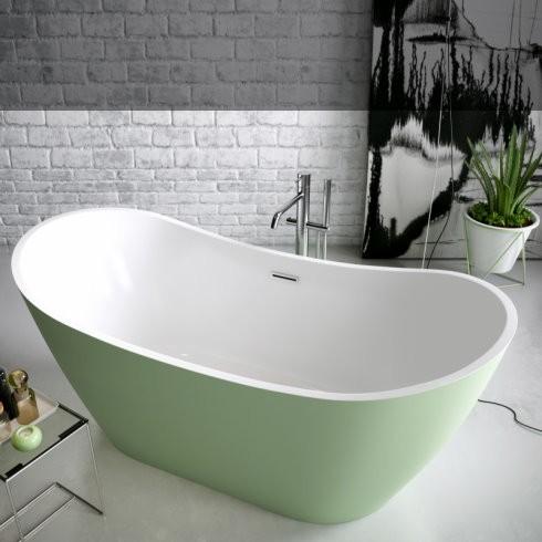 Banos10 | Badewanne Vela | bicolor | Acryl Polyester Mineralguss