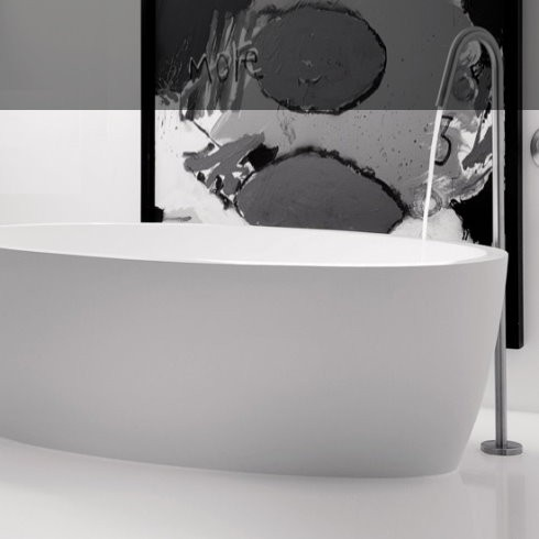 Badewanne Maya | DADOquartz | weiß | 170x90cm