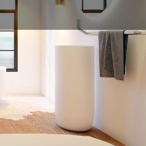 JEE-O | Waschtischsäule Flow | 40x40x92cm | aus DADOquartz