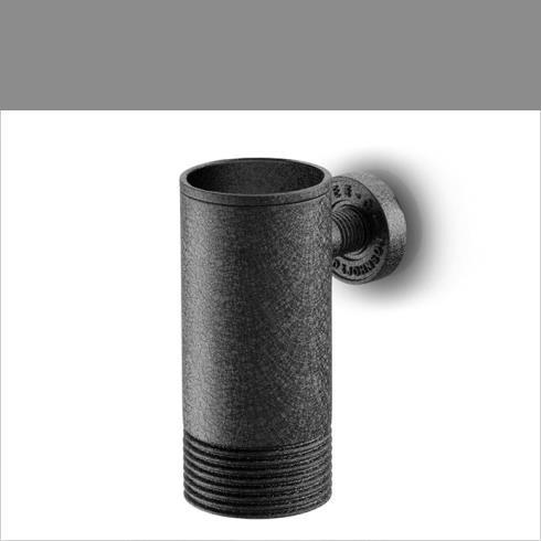 JEE-O | Wandbecher Soho | Hammerschlagbeschichtung | schwarz matt
