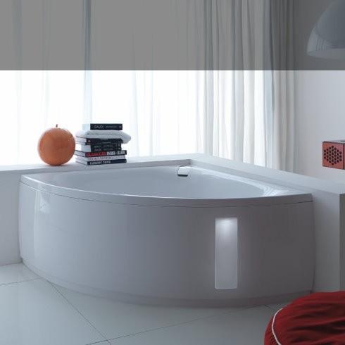 Eckbadewannen, schöne Badewannen zum Eckeinbau | baederdesign ... | {Eckbadewanne 2 personen 94}