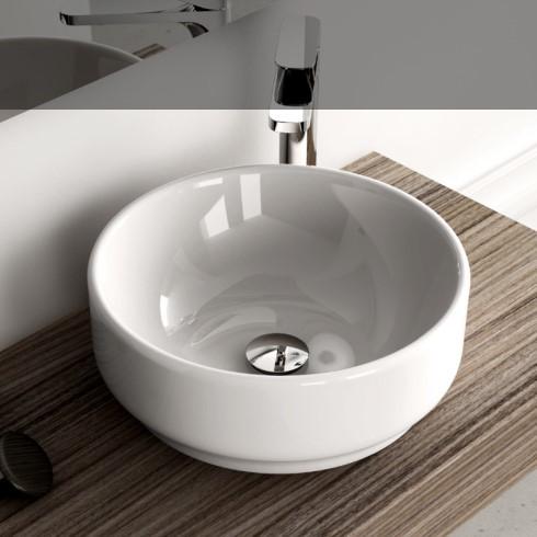 Aufsatz-Waschschale Giò 42 | weiß