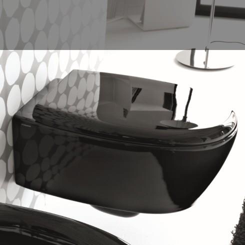 Hidra | Wand-WC Loft | schwarz