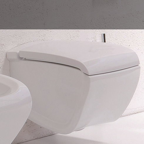 Hi-Line | Wand-WC | weiß glänzend