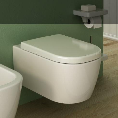 "Wand-WC Serie Faster | Soft Close Sitz ""Wrap"" | Ausführung weiß"