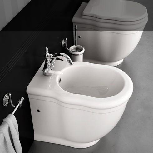 Hidra | Wandstehendes Bidet und wandstehendes WC Ellade