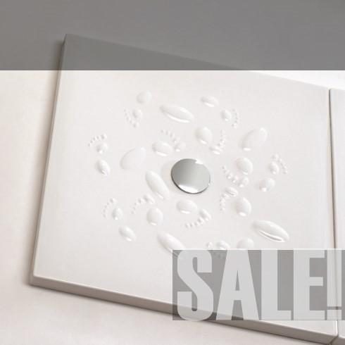 Ambiente Orme | 90x90 | weiß glänzend