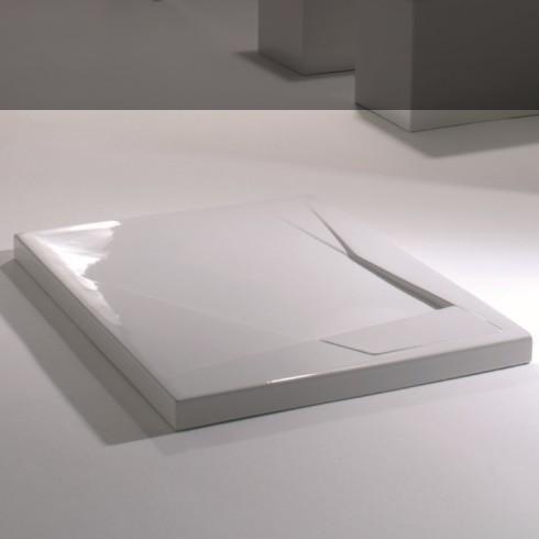 Duschwanne OZ | 100x80 | weiß glänzend