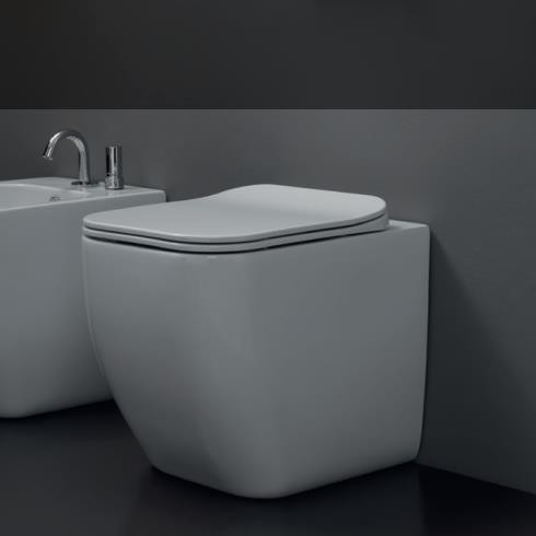 GSG | Stand WC | Serie Brio | Soft Close WC-Sitz Slim Quick Release