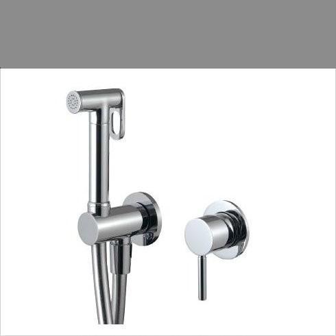 Unterputz Handbrauseset am WC   Serie Up   5777   chrom