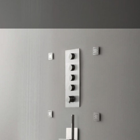 Armaturenserie 5Mm | Treemme | Edelstahl | Designer: Oco Studio