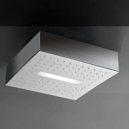 Regenbrause Light   mit LED Beleuchtung   Unterbauvariante