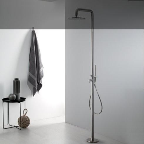 Duschen-Standarmatur | Diametro35 | edelstahl gebürstet