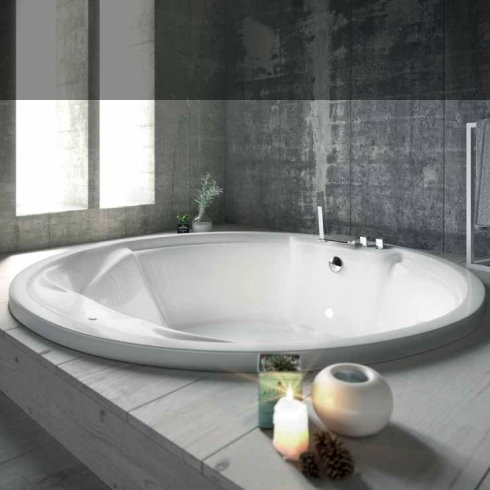 banos10 rundbadewanne sharon 160cm verschiedene massagesysteme. Black Bedroom Furniture Sets. Home Design Ideas