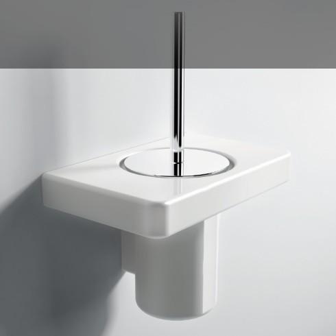Sehr Hidra Ceramica | wandhängender Toilettenbürstenhalter | Piano  TP36