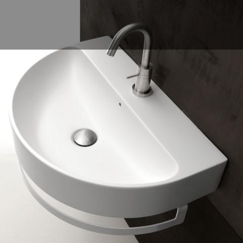 axa waschbecken halbrund normal 50cm 60cm 70 cm design romano adolini. Black Bedroom Furniture Sets. Home Design Ideas