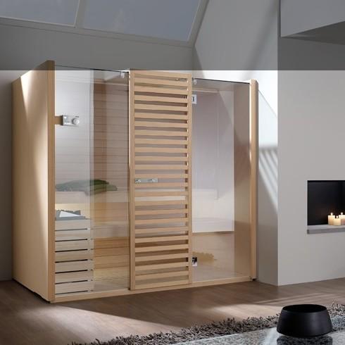 Bäderdesign  Effegibi | Finnische Sauna | Komplettsauna | Serie Sky | Design ...