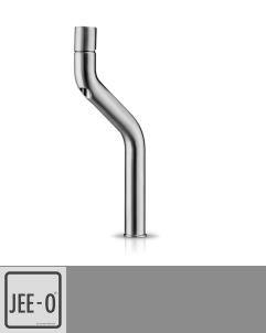 JEE-O | hohe Waschtischarmatur Flow | Edelstahl gebürstet | Brian Sironi