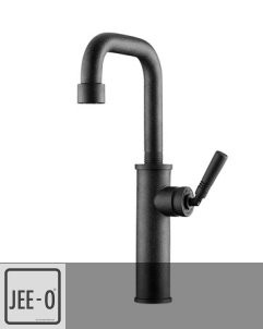 JEE-O | Waschtischarmatur Soho | Hammerschlag schwarz matt | Grand & Johnson