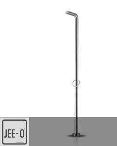 JEE-O | Aussendusche Pure 09 | edelstahl gebürstet | Lammert Moerman