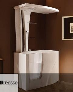 Sitzbadewanne Gen-Y | Duschkabinenaufsatz: Gen-Y Top