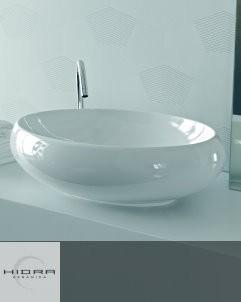 Hidra Ceramica Waschschale TAO 60cm | weiß