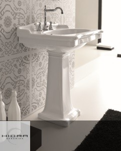 Hidra | Ellade | klassischer Waschtisch mit Standsäule