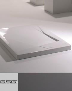 Duschwanne OZ | 100x80 | weiß