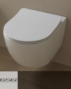 GSG | Wand WC | Serie Like | Soft Close WC-Sitz Slim Quick Release