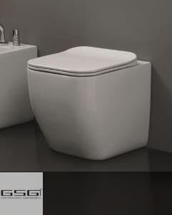 GSG | Stand WC | Serie Brio | Soft Close WC-Sitz