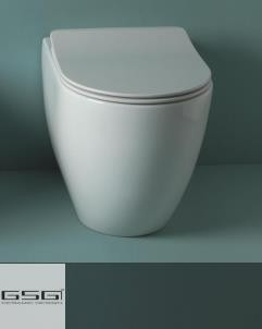 GSG | Stand WC | Serie Like | Soft Close WC-Sitz Slim Quick Release
