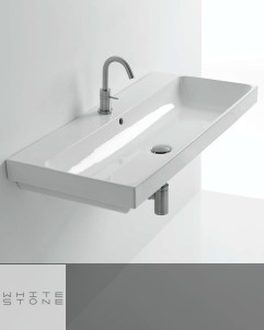Waschbecken Normal | Wandmontage | 100cm