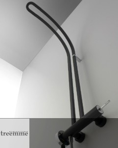 Treemme | Philo | Aufputzbrausearmatur | schwarz matt