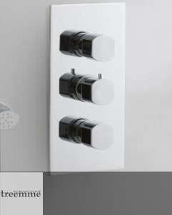 Hedo | 3 Wege-Thermostat | Seitenstrahlbrausen
