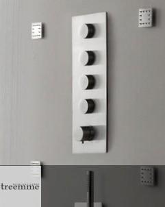 Treemme Unterputzthermostat | 5mm | 4 Wege