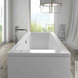 große freistehende rechteckige Badewanne Badewanne Duke | 180x90