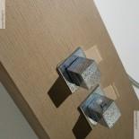 Duschpaneel Forest | Solidstone | hier ohne Seitenstrahldüsen