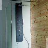 Duschpaneel Natural Pizarra | Solidstone | 148cm hoch