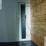Duschpaneel Natural Pizarra   Solidstone   200cm hoch