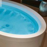 ovale Badewanne Dream 190 mit Ghost System | 190x110cm
