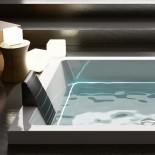 Badewanne Dream 200 mit Ghost System | 200x160