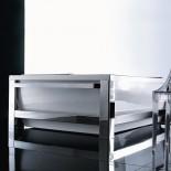 freistehende Badewanne Bis One Steel