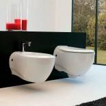 Art Ceram   Wand-WC Blend und Wand Bidet Blend   weiß
