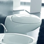 Wand WC Tao | weiß glänzend | Soft Close WC-Sitz