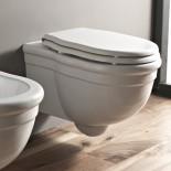 Hidra | klassisches Wand-WC Ellade | weiß
