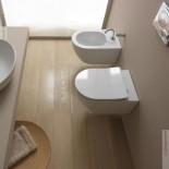 GSG   Wand WC und Bidet   Serie Like   Soft Close WC-Sitz Slim Quick Release