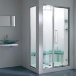 Effegibi Hamam-Tür Spaziodue | 105cm | Festteil 40 cm