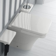 Stand-WC Serie Flat