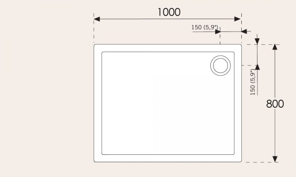 banos10 duschwanne evolution acrylduschwanne in verschiedenen ma en. Black Bedroom Furniture Sets. Home Design Ideas